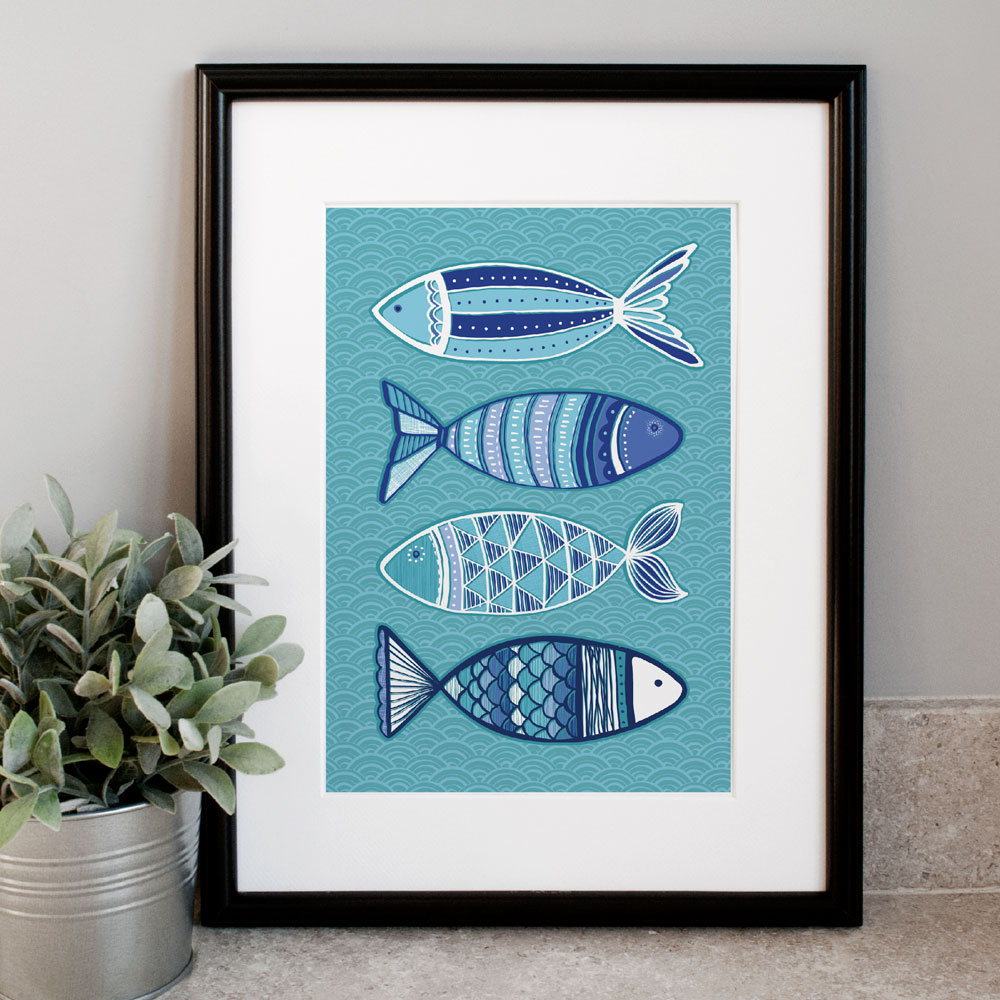 Don 39 t worry bee happy claire wilson designs for Dont worry be happy fish