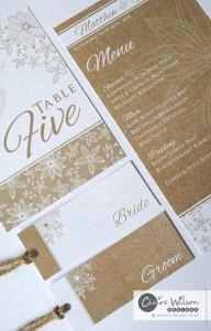 Brand new wedding collection, Rustic Floral...available now!