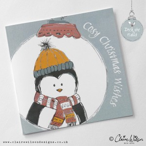 Deck the Halls - Cosy Christmas Wishes