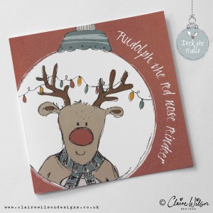 Deck the Halls - Rudolph the Red Nose Reindeer