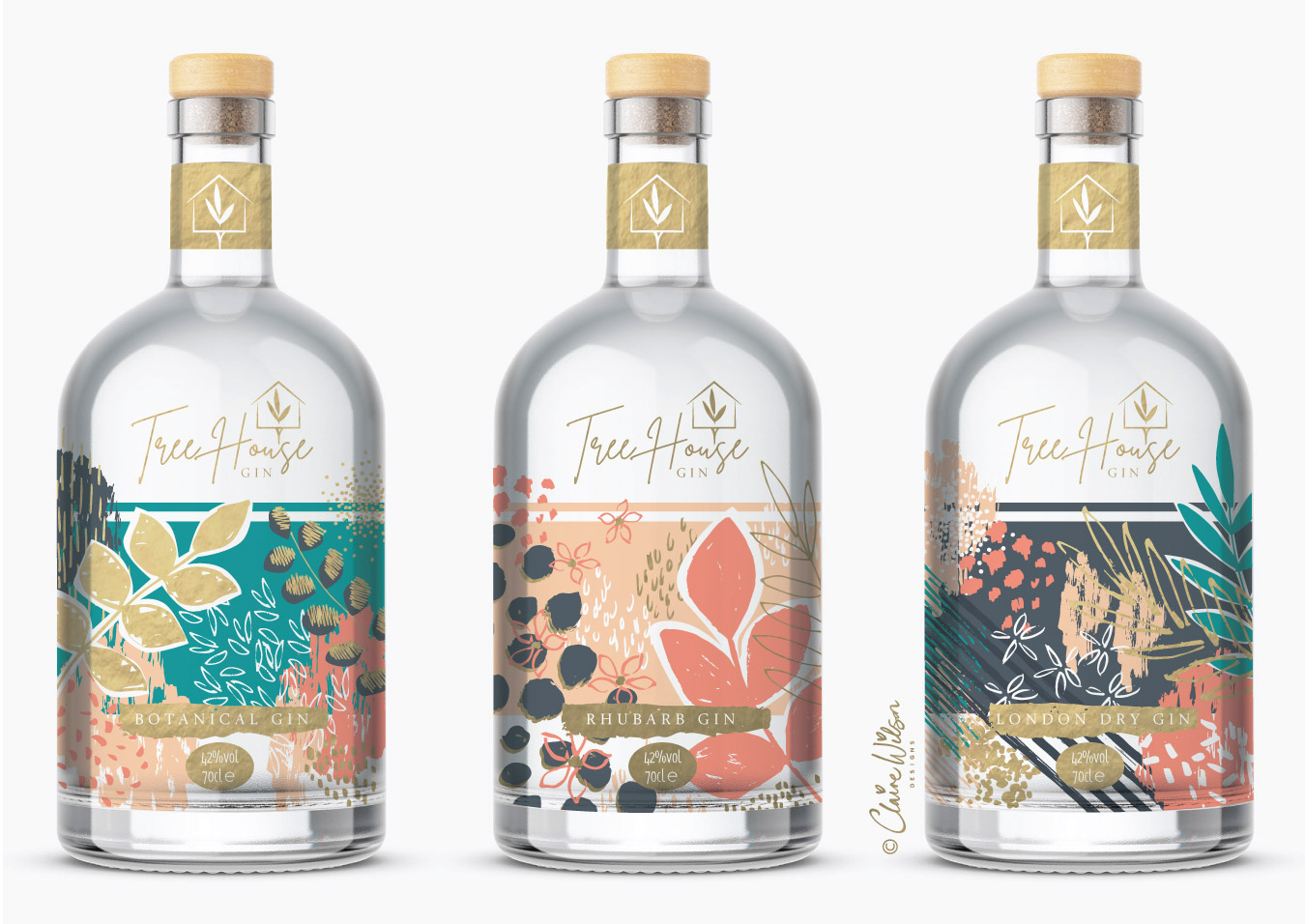 CWD_Abstract florals Gin Bottles copyright-01
