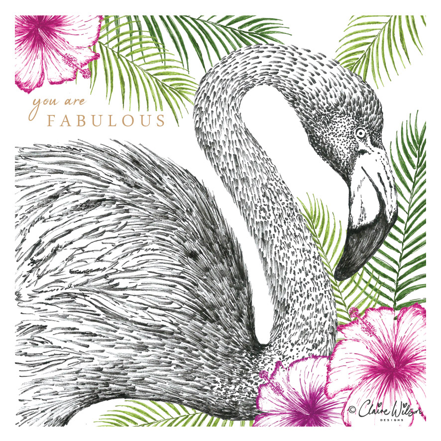 CWD_Flamingo & Flowers copyright-01